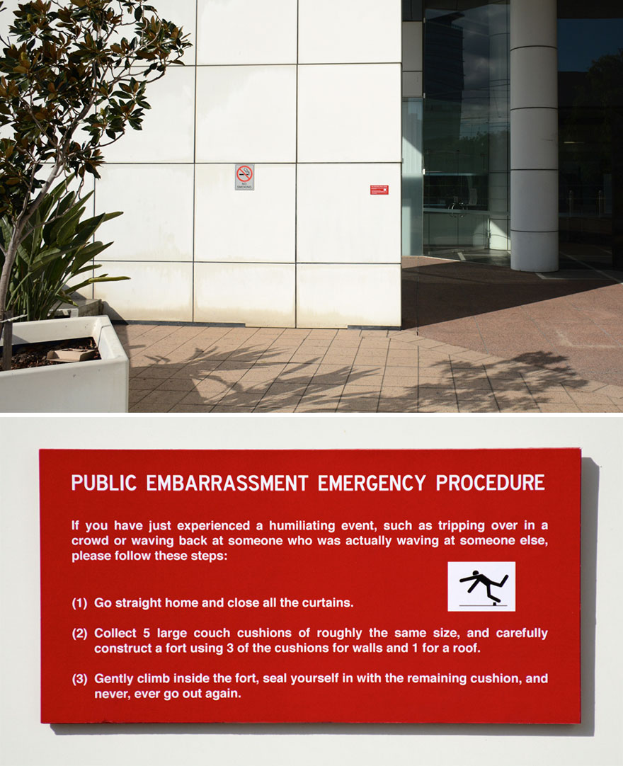 Emergency Plaque