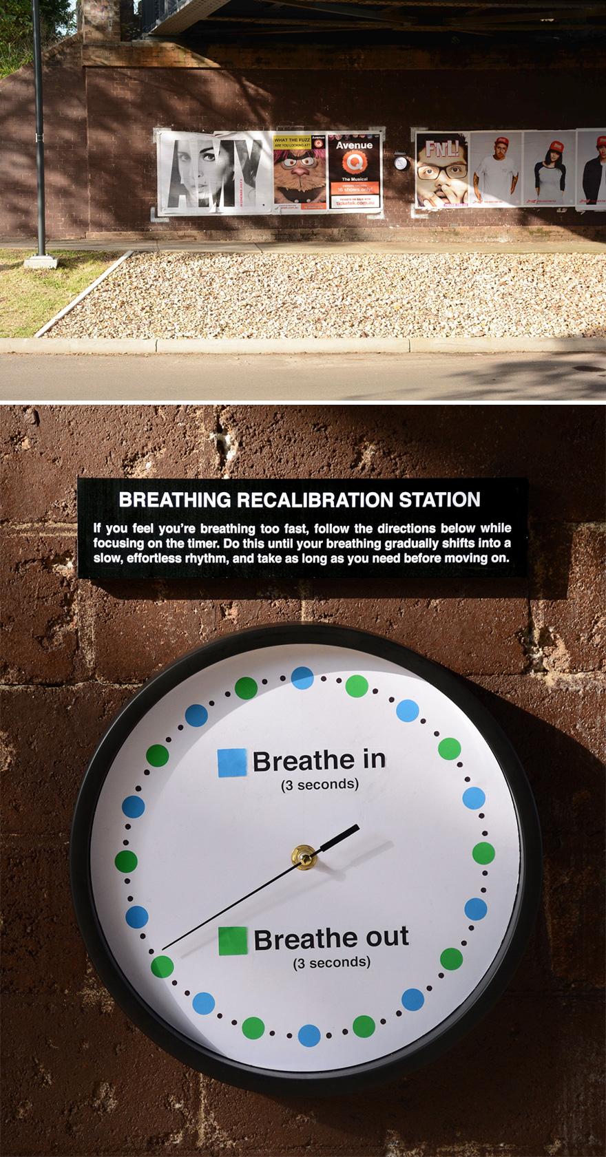Breathing Recalibration Station