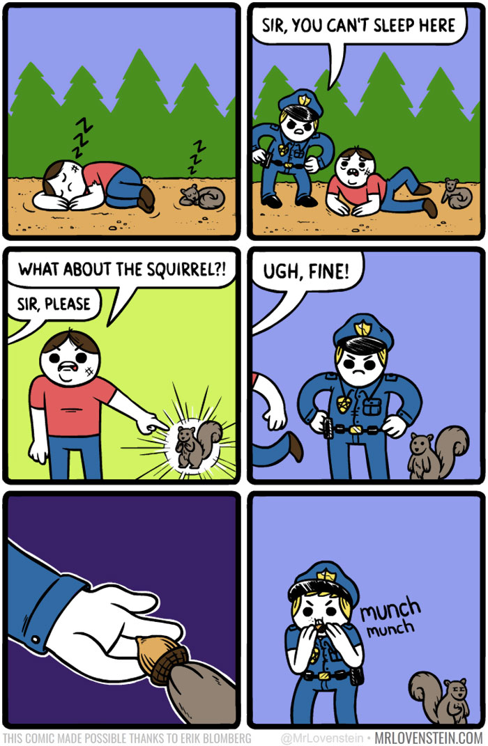 funny comics dark hilarious mr humour comic corruption lovenstein memes cartoon meme mrlovenstein squirrel ever intelligent brutally boredpanda creepy web