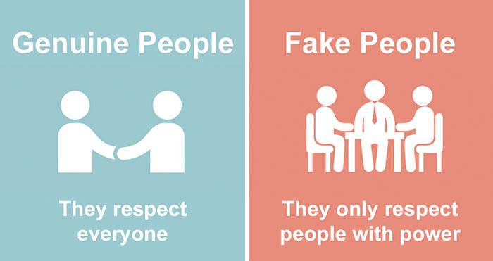 Fake Vs Genuine People: 8 Ways To Identify Them