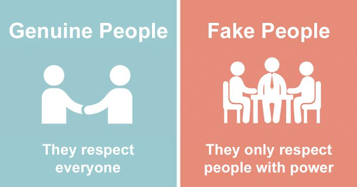 4b73e9264ee Fake Vs Genuine People  8 Ways To Identify Them   Bored Panda