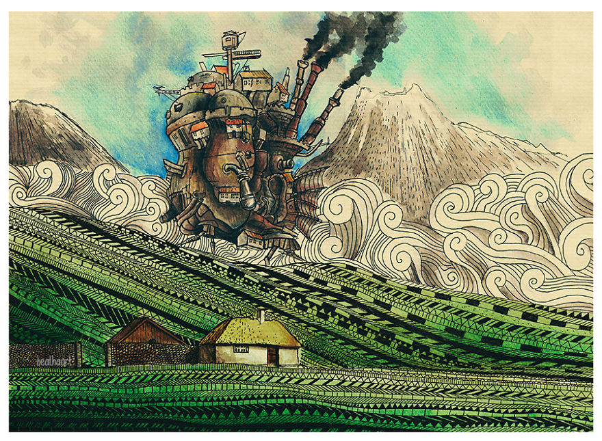 Howl's Moving Castle By Beatha