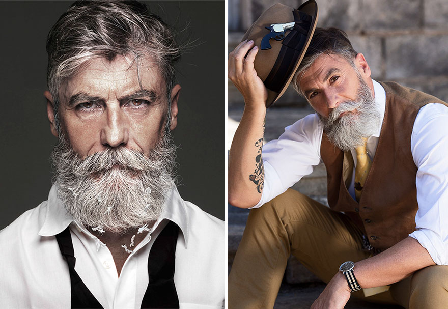 Best Haircuts For 50 Year Old Man : 10 handsome guys wholl redefine your concept of older men