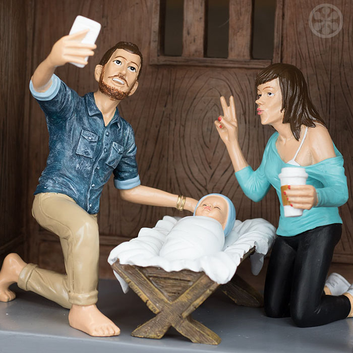 Hipster Nativity Set: What Would The Nativity Scene Look Like If ...