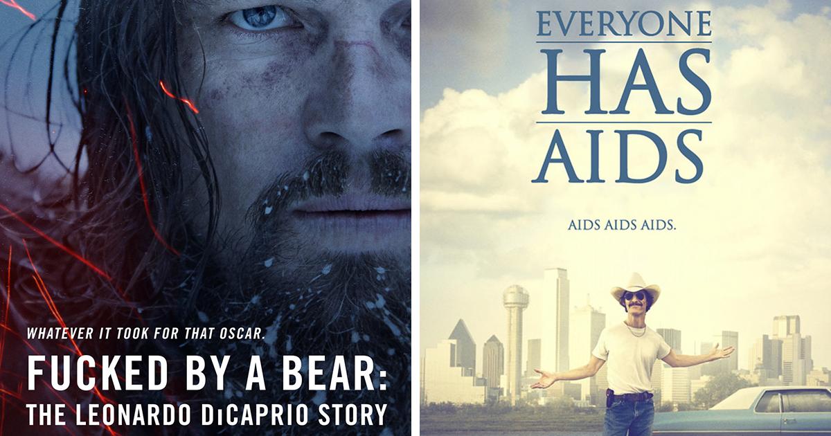 10 Brutally Honest Movie Posters