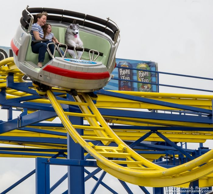 Fun Park Rollercoaster....weeeeeeee!!!!!
