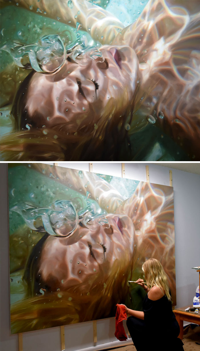 Oil Painting By Reisha Perlmutter