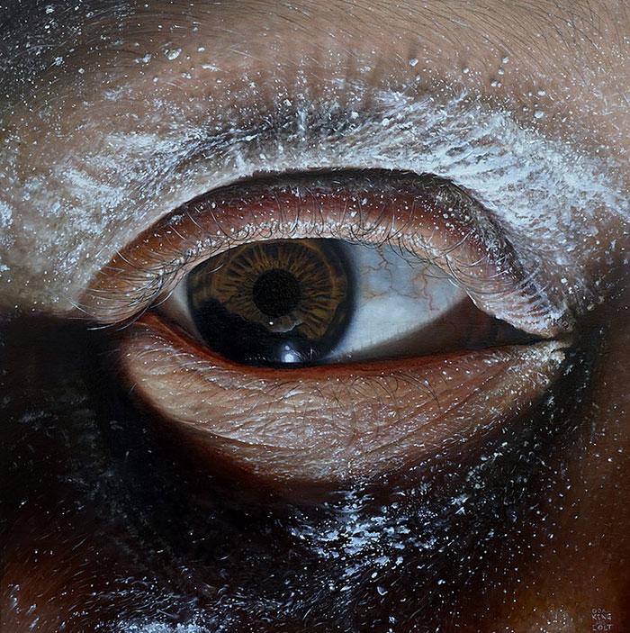 Pintura al óleo por Oda y Kit Rey
