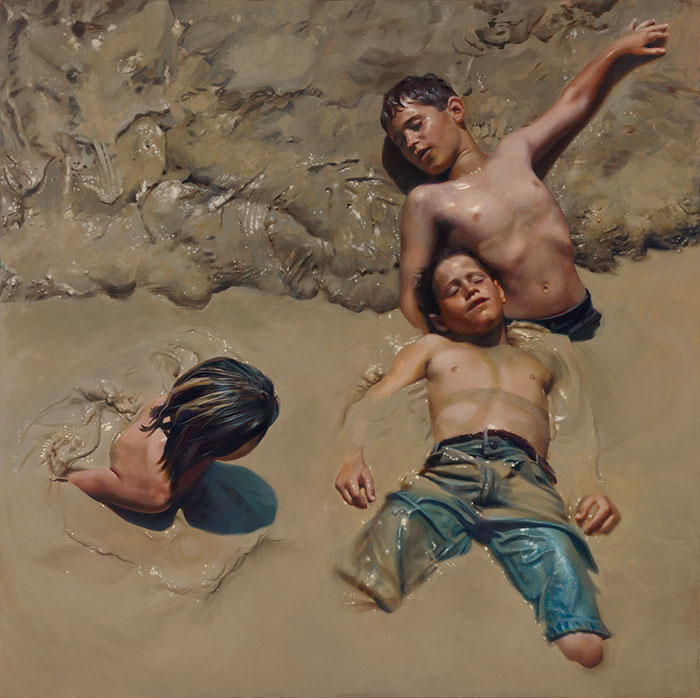 Oil Painting By Teresa Elliott