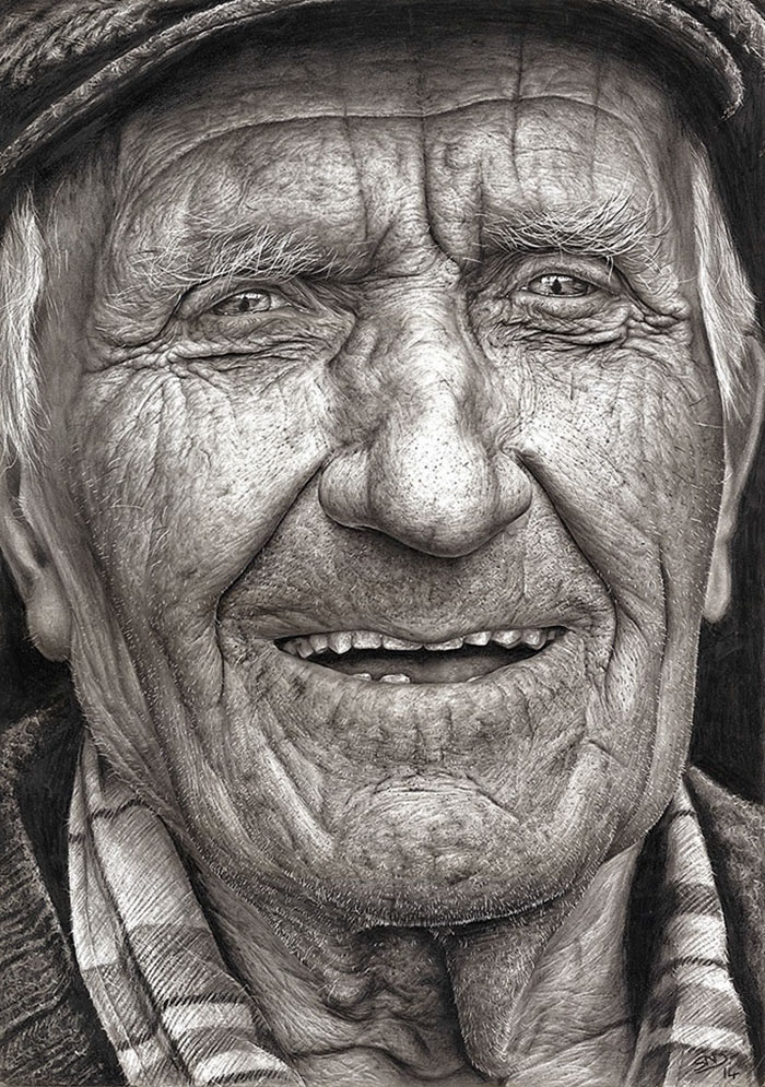 Pencil Drawing By 16-Year-Old Artist Shania Mcdonagh
