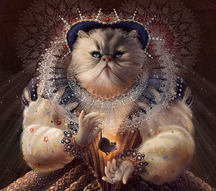 I Imagine Cats As Historical People