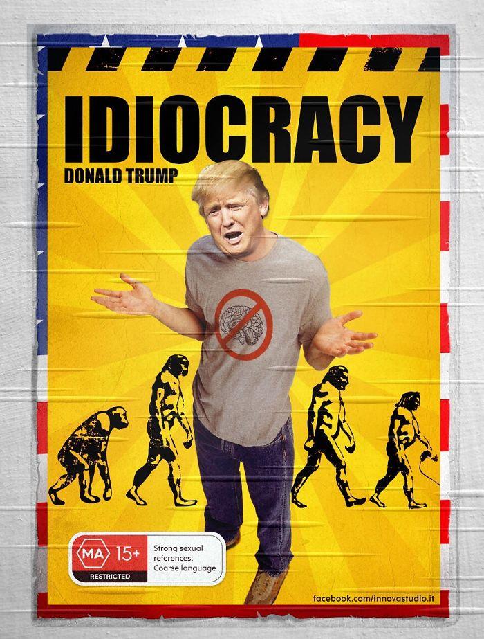 Idiocracy Donald Trump