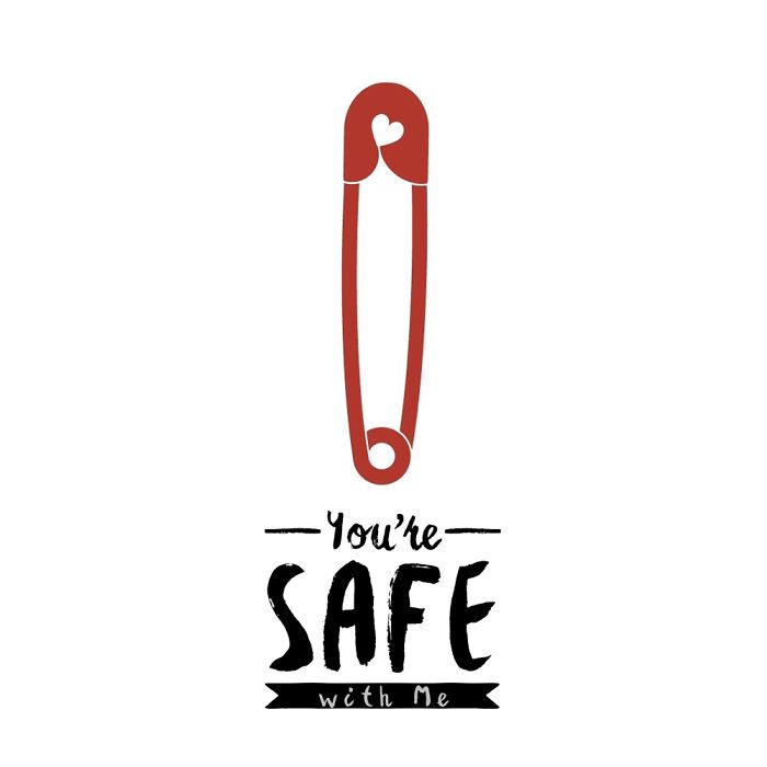 You're Safe With Me – Vinyl Decal