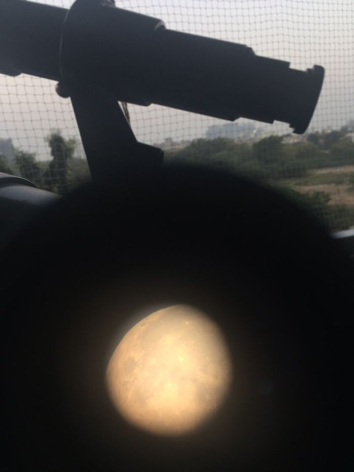 A View From My Telescope. Does Not Look Different