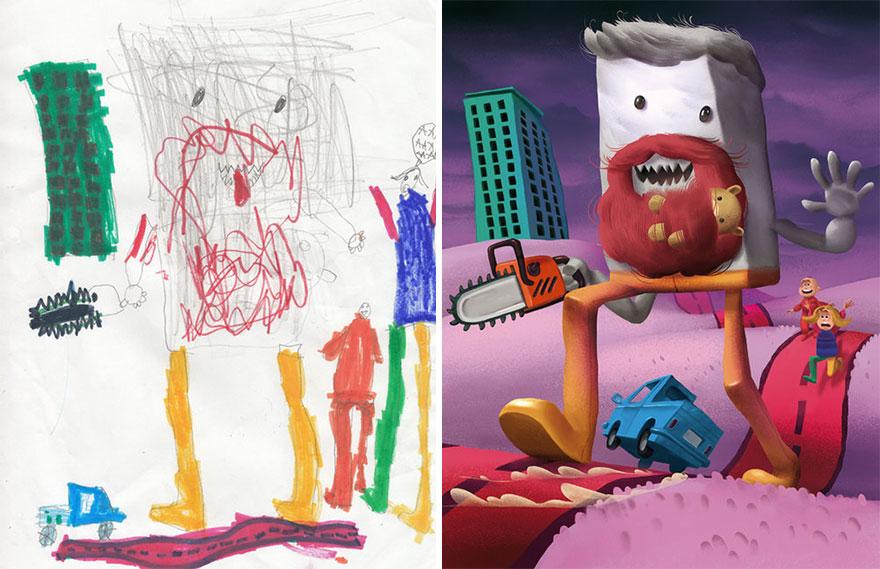 Çizimler Canlandı