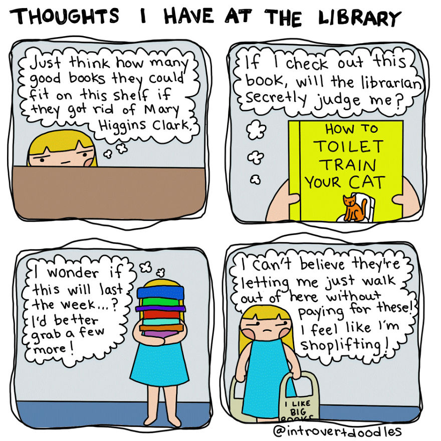 Secret Library Thoughts