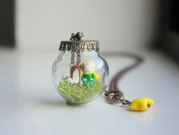 I Can't Stop Making Teeny Tiny Story-Based Figures And Faux Taxidermy Sculptures
