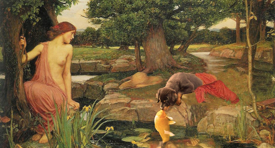 Narcissus & Echo and the Fish