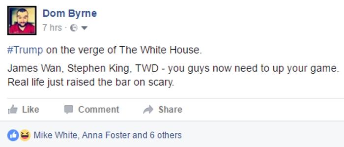 Horror Just Got Serious...