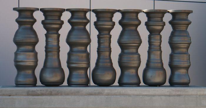 Artist Makes Optical Illusion Vases That Create Secret Images When