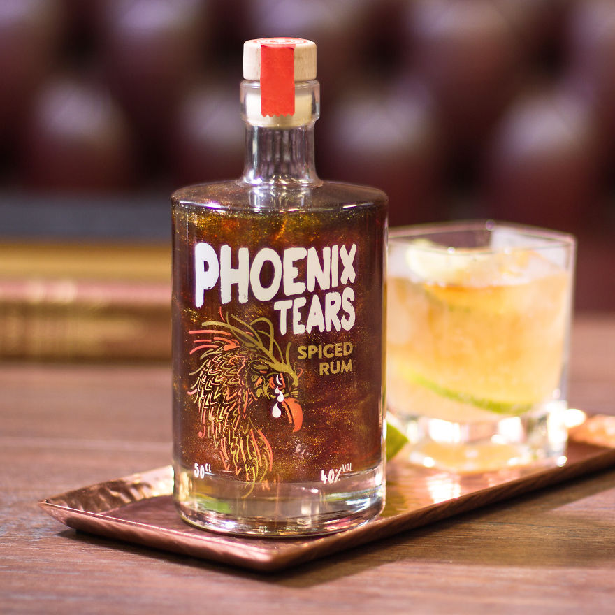 This Rum Lets You Sip The Shimmering Tears Of A Mythical Phoenix