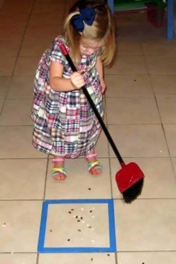 Los niños te pueden ayudar en casa transformando las tareas en juegos