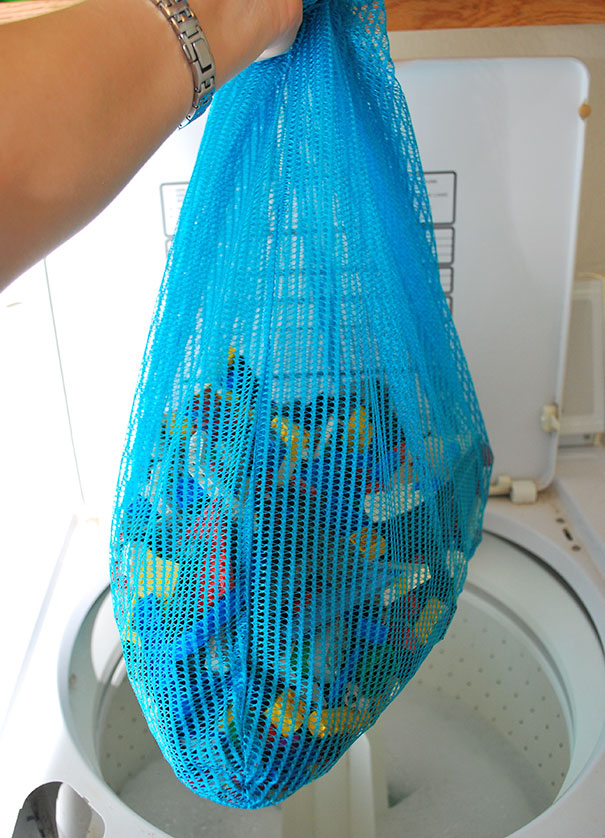 Wash You Kid's Legos At Least Once A Month In Washing Machine