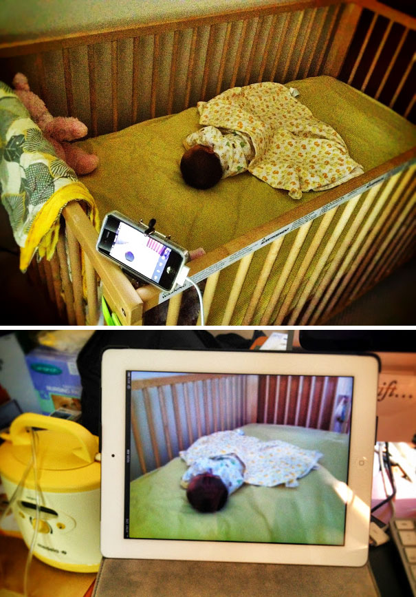 Make Your Own Baby Video Monitor