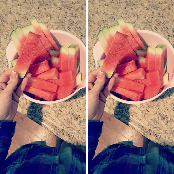 Cut Watermelon Into Little Sticks To Make It Easier For Your Kids To Eat