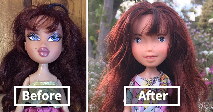 Perfectly Imperfect: I Upcycle My Dolls By Giving Them A More Natural Look