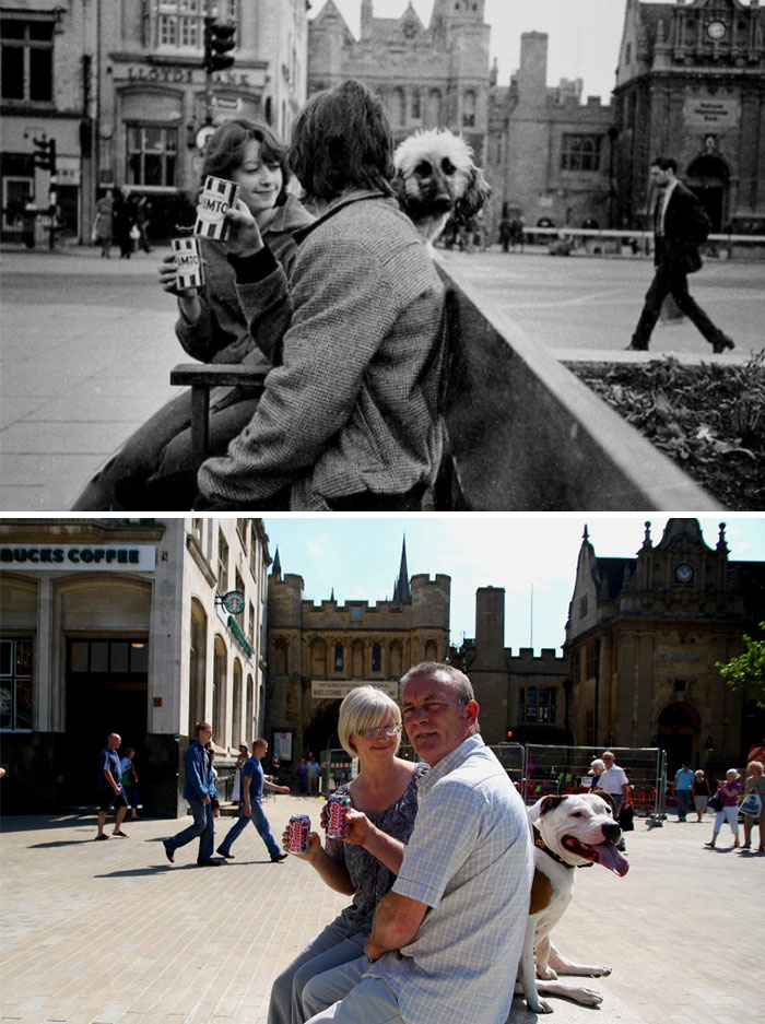 Trudi And Dave Talbot (1980 And 2010)