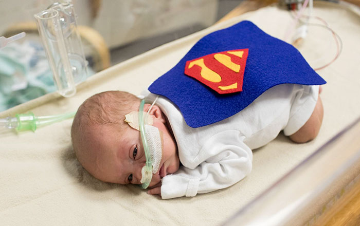 Hospital Staff Dress Premature Babies As Superheroes To Help Them Fight For Lives