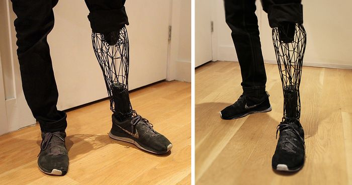 Incredible See Through Prosthetics 3d Printed From