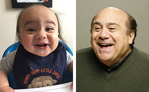 """My Son Used To Look Like Danny DeVito"""