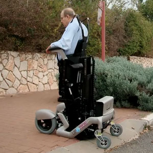 Revolutionary Wheelchair That Lets Users Stand Up
