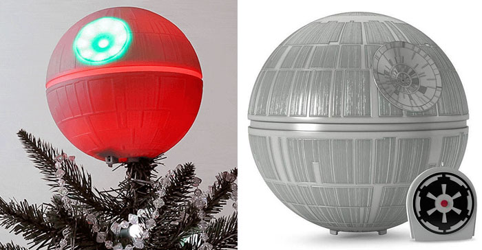 Death Star Christmas Tree Topper Will Make You Switch To The Dark Side This Christmas