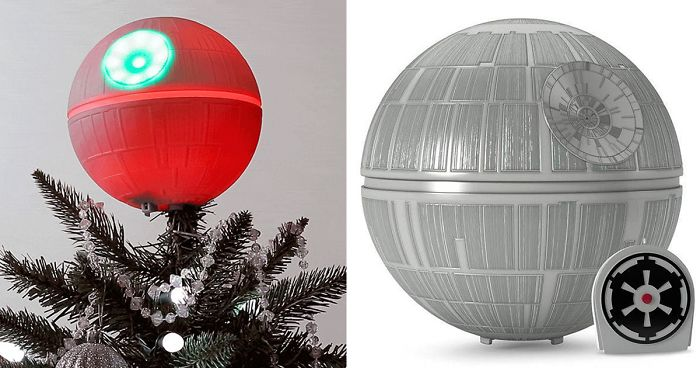 Death Star Christmas Tree Topper Will Make You Switch To The Dark Side This  Christmas - Death Star Christmas Tree Topper Will Make You Switch To The Dark