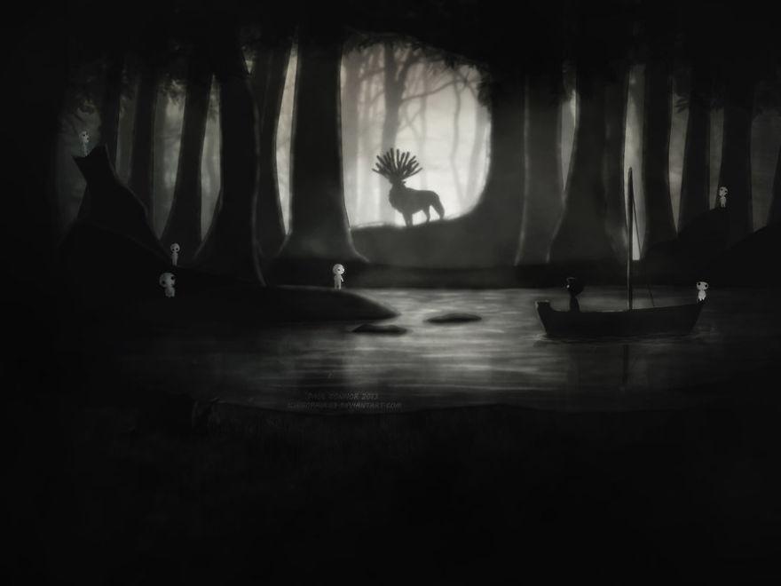 Princess Mononoke By Ichigo Paul