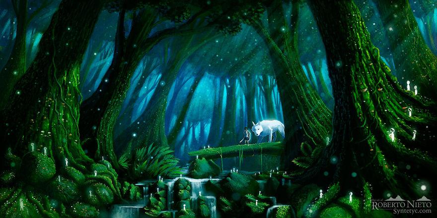 Princess Mononoke By Roberto Nieto