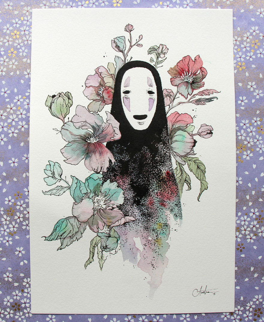 No Face From Spirited Away By Audra Auclair