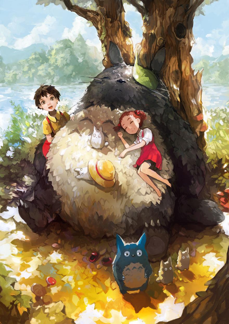 Totoro By Alchemaniac