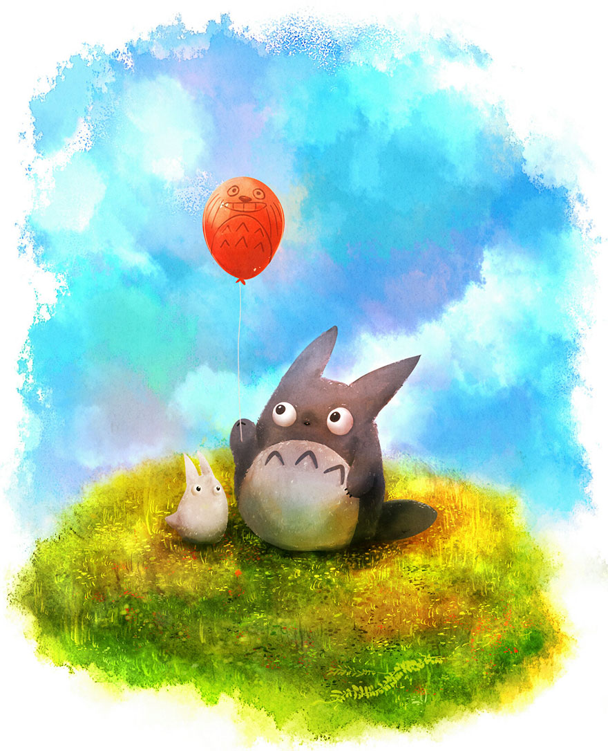 Totoro By 0okami-Rei