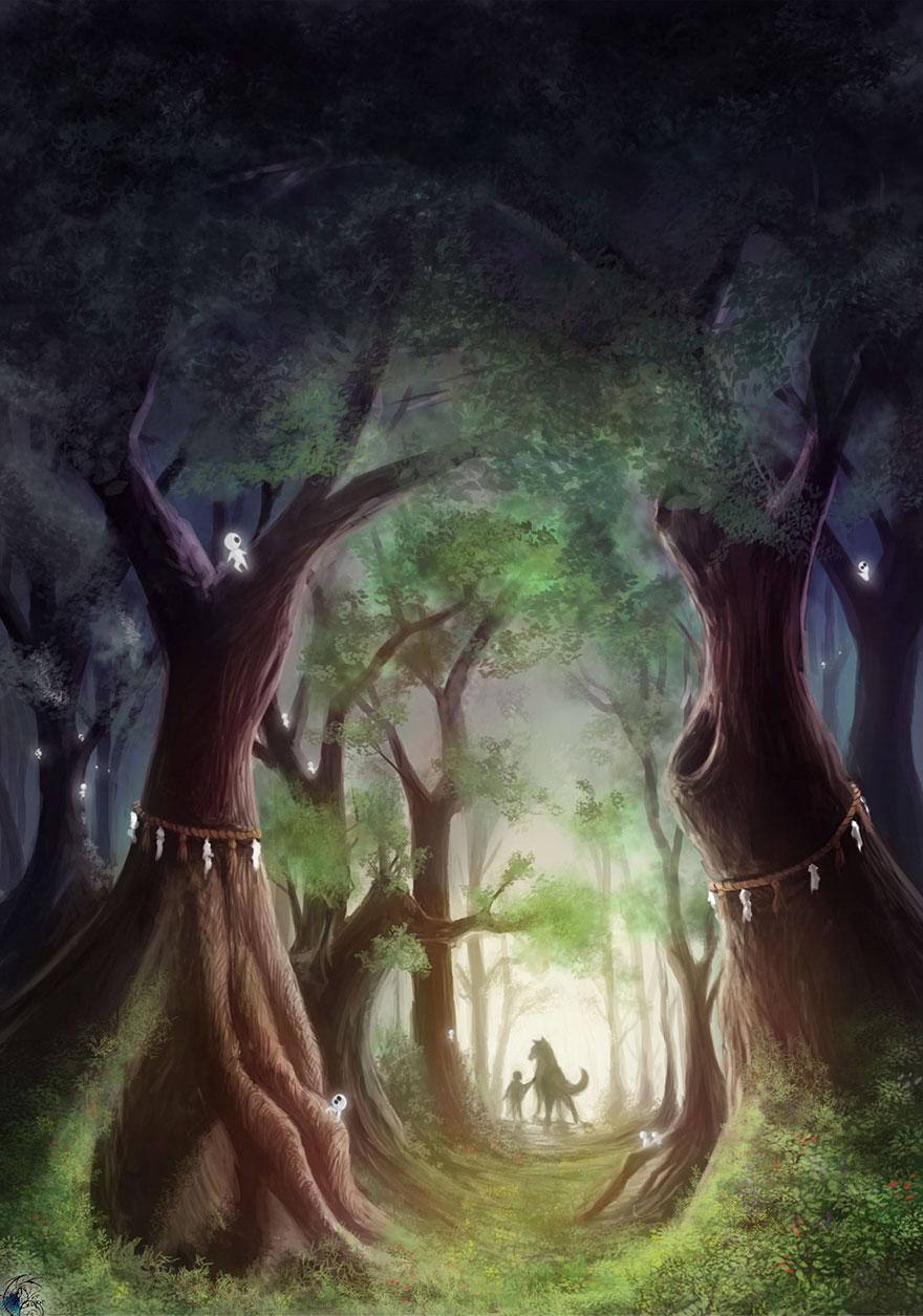 Princess Mononoke By Katy Grierson