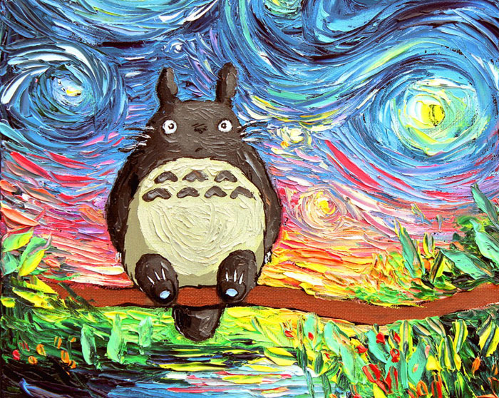 15+ Studio Ghibli Inspired Paintings That Will Spirit You Away