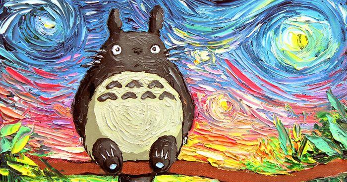 15 Studio Ghibli Inspired Paintings That Will Spirit You