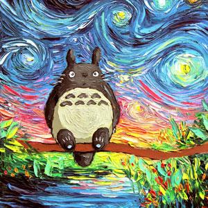 15+ Studio Ghibli Inspired Paintings That Will Spirit You Away