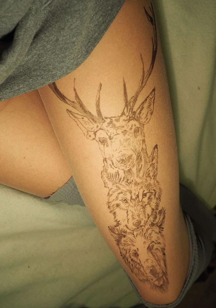 Deer, Wolf, Bear Tights