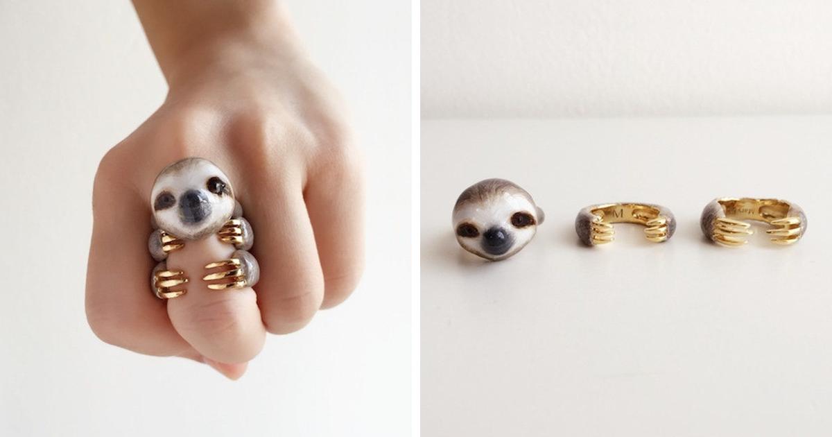 Bored Panda Animal Rings