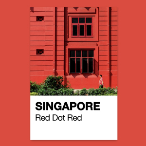Iconic Places In Singapore Reimagined As Pantone Colours