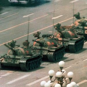 Tank Man, Jeff Widener, 1989